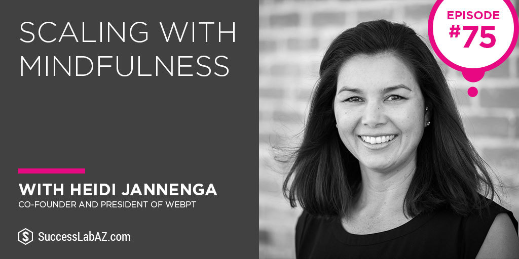 SuccessLab Podcast with Heidi Jannenga