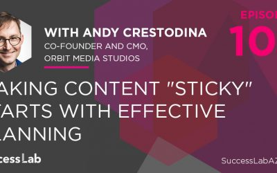 """Making Content """"Sticky"""" Starts With Effective Planning"""
